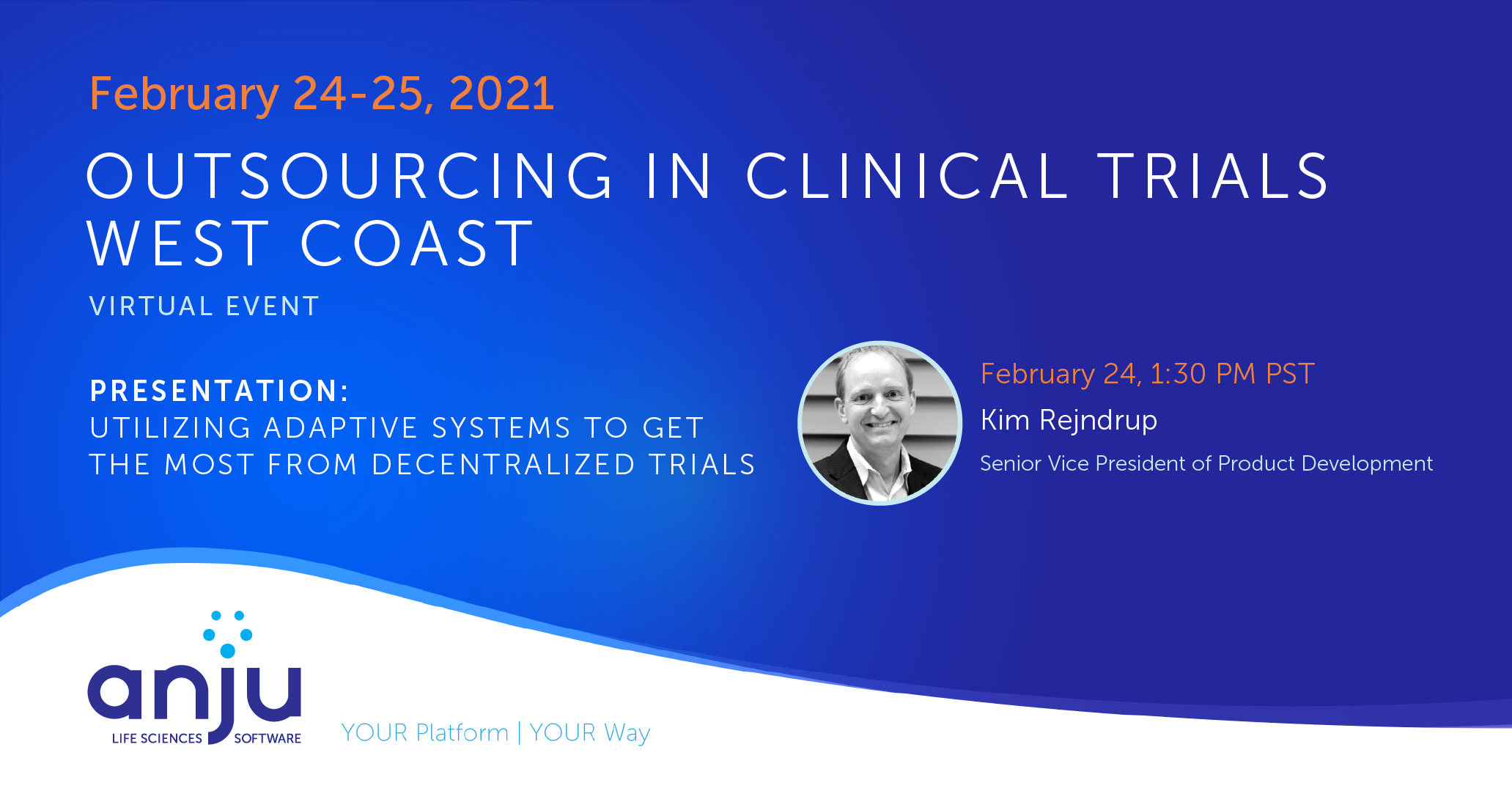 Join Anju Software at OCT West Coast for Best Practices in Decentralized Trials Technology - recording in link below
