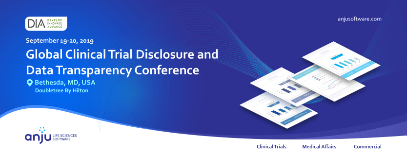 DIA's Global Clinical Trial Disclosure and Data Transparency Conference